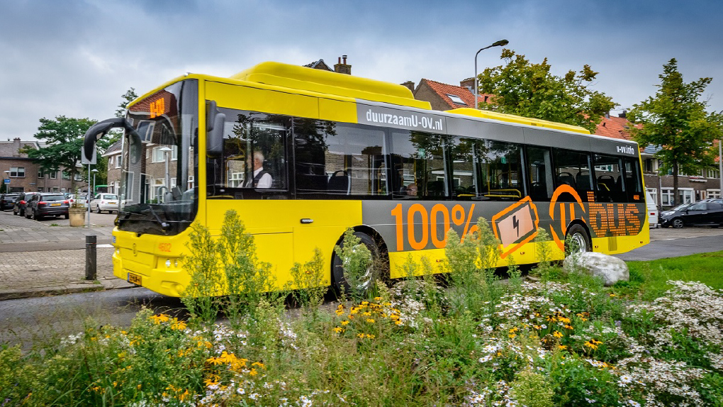 รถเมล์ที่ใช้พลังงานไฟฟ้าแทนพลังงานน้ำมัน