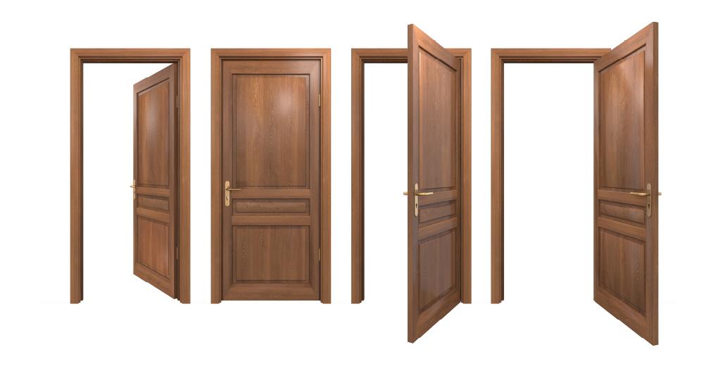 การติดตั้งวงกบและประตูไม้