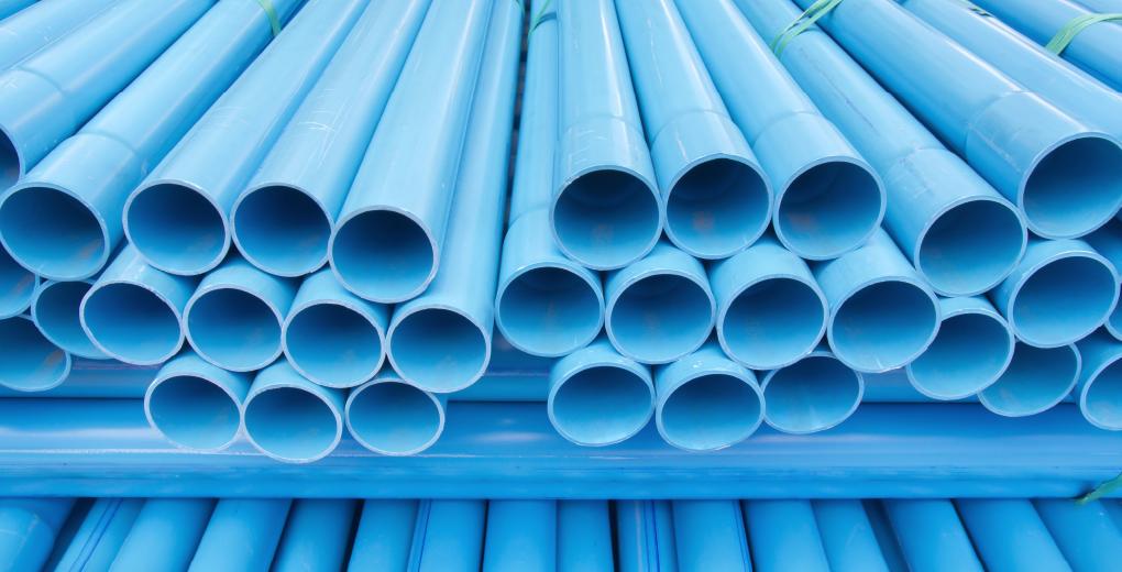 ท่อพีวีซีสีฟ้าที่นิยมใช้กัน