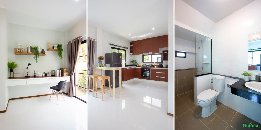 แบบบ้าน Sandee Modern Ville แบบที่ 1