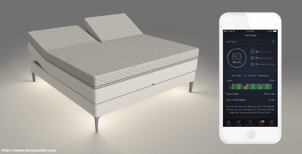 The Sleep Number 360 Smart Bed เตียงนอนที่ปรับระดับได้เอง