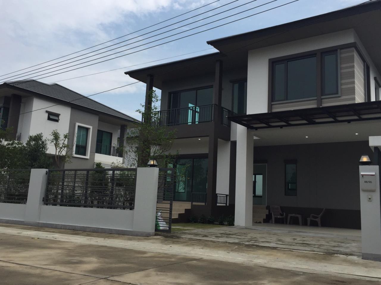 ขาย บ้าน แขวงศาลาธรรมสพน์ เขตทวีวัฒนา กรุงเทพมหานคร, ภาพที่ 1