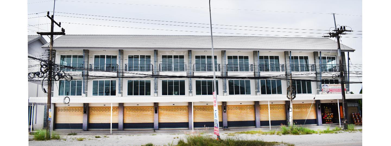 ภาพหลัก -  อาคารพาณิชย์ แยกวัดจุฬามุนี