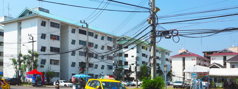 ภาพหลัก -  บ้านเอื้ออาทรนนทบุรี (วัดกู้2)