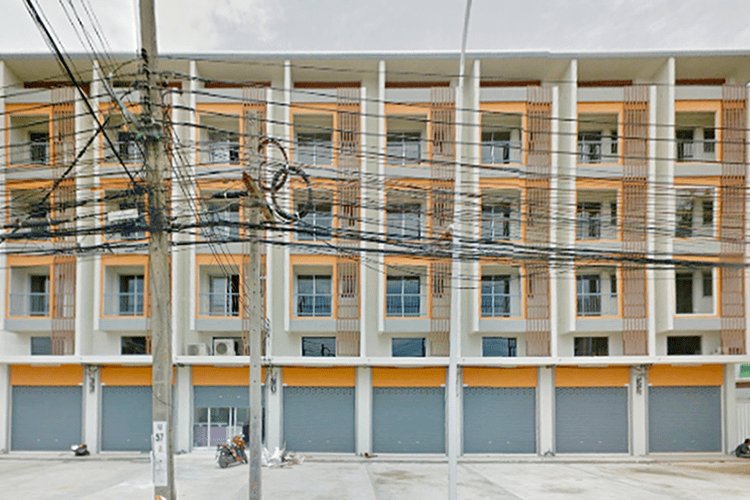 อาคารพาณิชย์ถนนท่าน้ำนนท์ - บรรยากาศ - 2