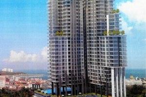 ขาย คอนโด ในโครงการCity Garden Tower ตำบลหนองปรือ อำเภอพนัสนิคม จังหวัดชลบุรี