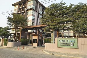 ขาย คอนโด ในโครงการDouble Lake Condominium ตำบลบ้านใหม่ อำเภอปากเกร็ด จังหวัดนนทบุรี