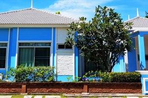 ขายบ้านเดี่ยว ชั้นเดียว ในโครงการ คาซ่า ซีไซด์ ชะอำ บ้านพักตากอากาศ ติดถนนใหญ่เพชรเกษม 89.5 ตารางวา บ้านตกแต่งสวย พร้อมเฟอร์ฯ ต.ชะอำ อ.ชะอำ จ.เพชรบุรี