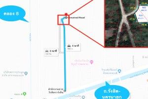 ขายที่ดิน คลอง 8 ถนน รังสิต-นครนายก ขนาด 315 ตารางวา ผังเมืองสีม่วง ลำผักกูด · ธัญบุรี · ปทุมธานี