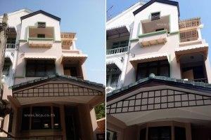 ขายอาคารพาณิชย์ 3 ชั้น ในโครงการ พาร์คแกลเลอรี่ รัตนาธิเบศร์ บางกระสอ · เมืองนนทบุรี · นนทบุรี