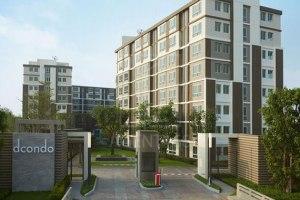 ขายคอนโด ในโครงการ D Condo Campus Resort  Rungsit คลองหนึ่ง คลองหลวง ปทุมธานี