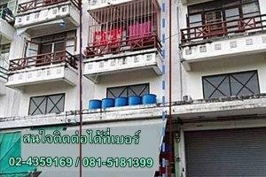 ขายอาคารพาณิชย์ 3 ชั้น ในโครงการ บ้านนครทอง ปาร์ควิว 3 ละหาร · บางบัวทอง · นนทบุรี