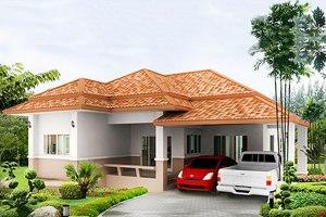ขาย บ้าน ในโครงการ บ้านเจริญทรัพย์ 11 ตำบลขามใหญ่ อำเภอเมืองอุบลราชธานี จังหวัดอุบลราชธานี