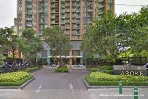 Villa Asoke, คอนโด ให้เช่า, MRT เพชรบุรี & Airport Link