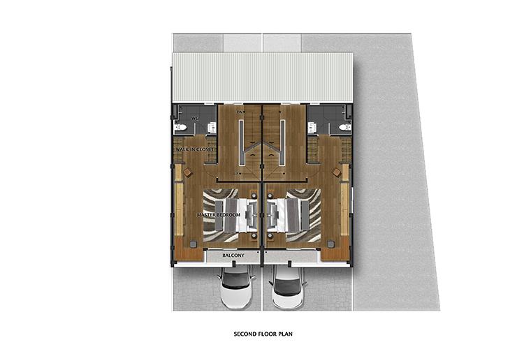 Picasso Home Office ในโครงการ เดอะ แคนวาส สุขุมวิท-สำโรง, ภาพที่ 3