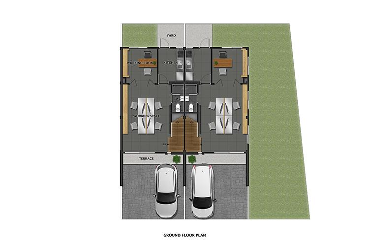 Picasso Home Office ในโครงการ เดอะ แคนวาส สุขุมวิท-สำโรง, ภาพที่ 2