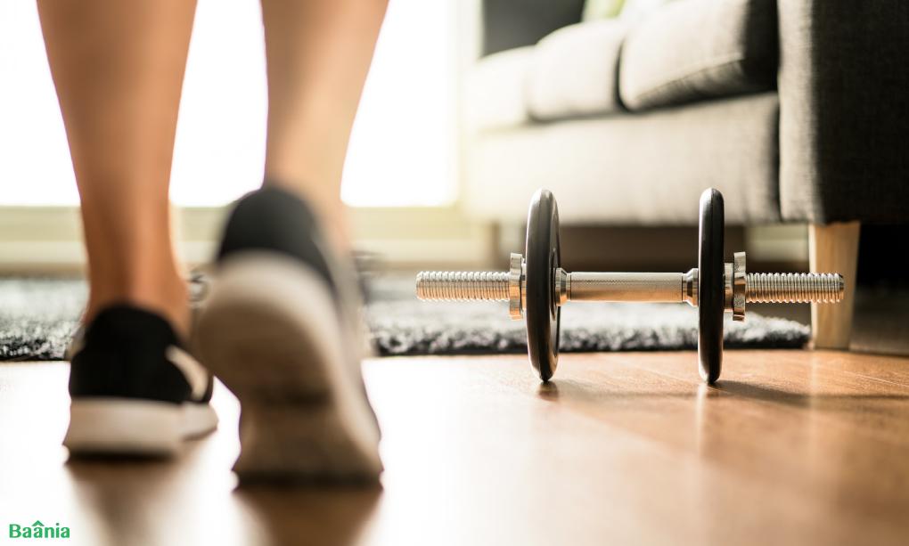 4. อยู่บ้านอย่านิ่งเฉย ออกกำลังกายบ้าง