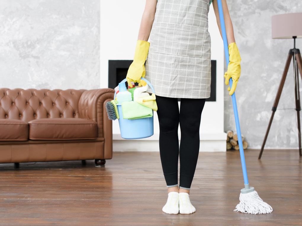 ทำบ้านให้สะอาด