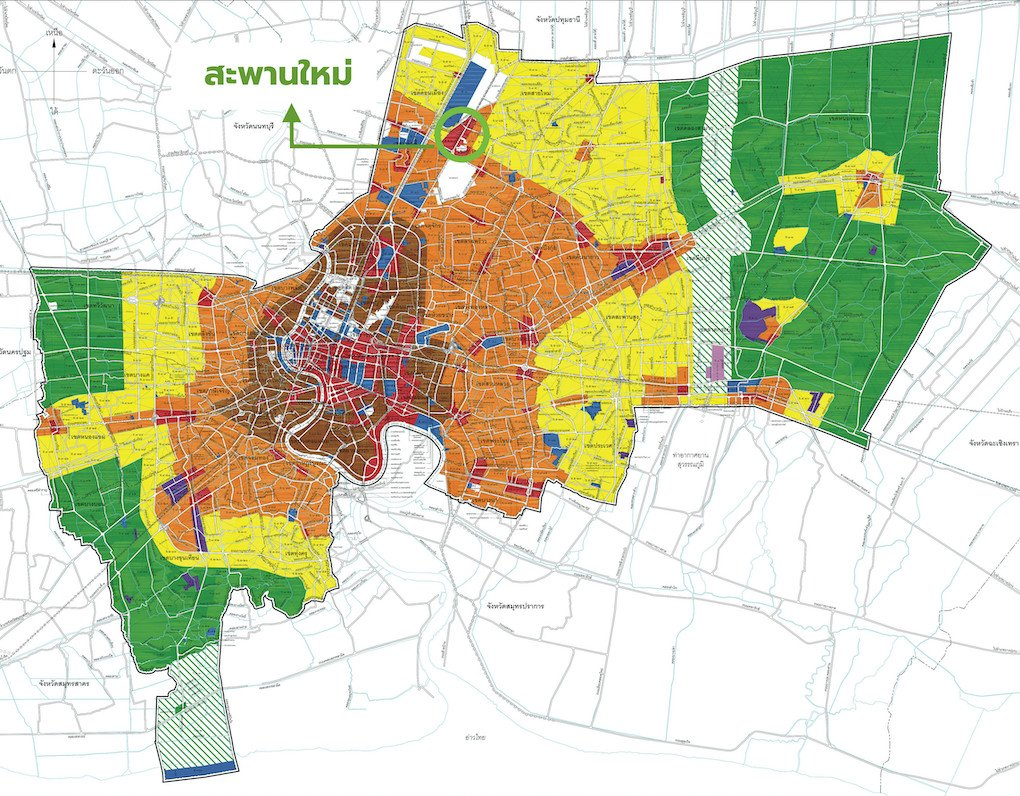 ผังเมืองกรุงเทพ