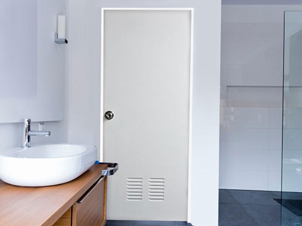 ประตูห้องน้ำ UPVC