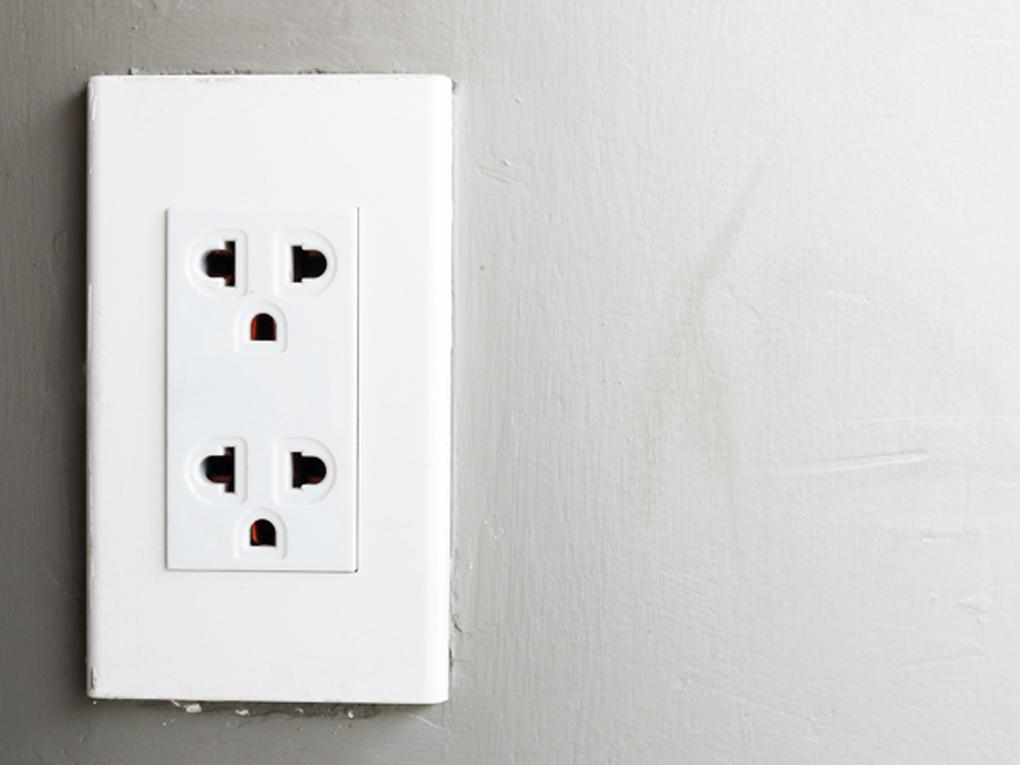 ตำแหน่งเต้าเสียบไฟฟ้า