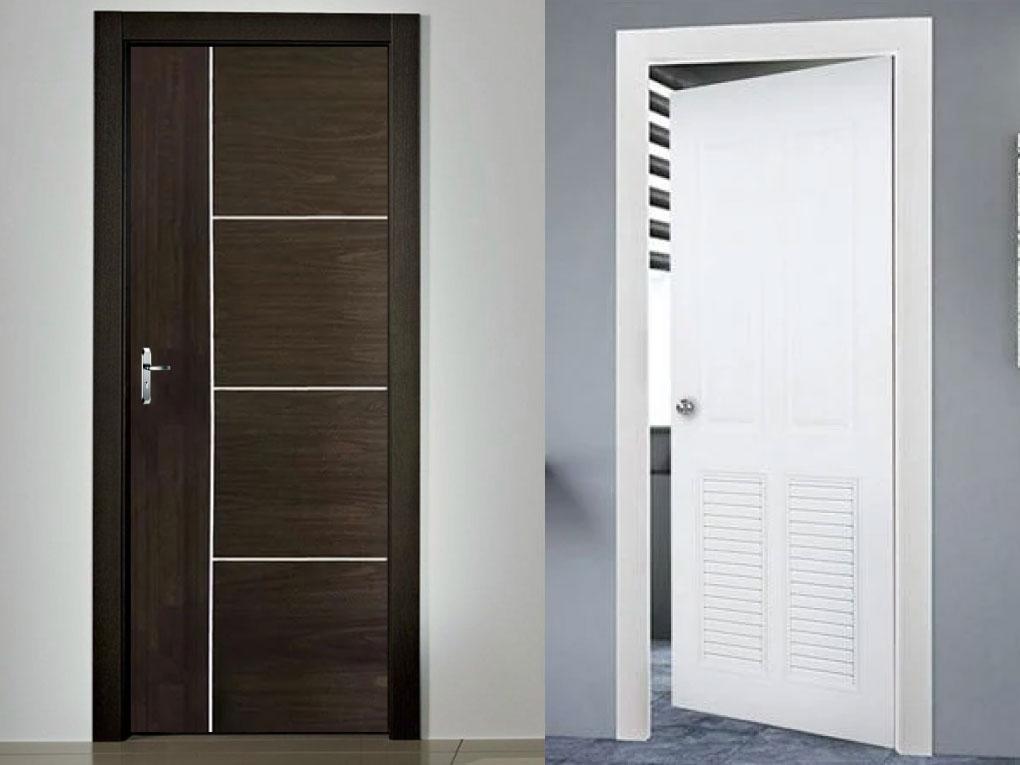 ประตู uPVC กับ PVC
