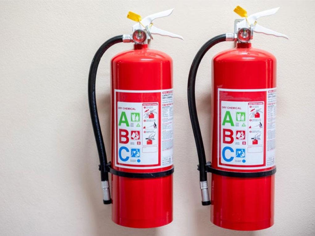 วิธีใช้ถังดับเพลิง