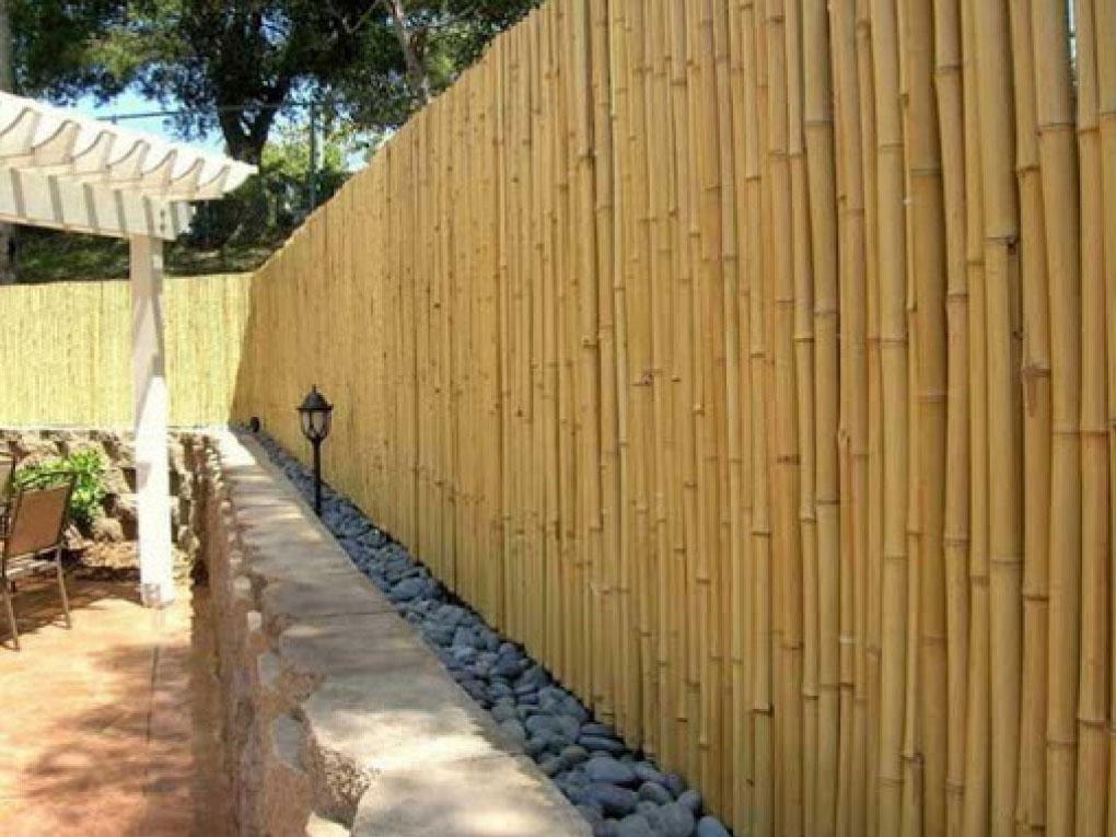 จุดเด่นของรั้วไม้ไผ่