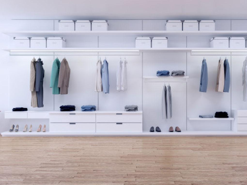 วิธีการจัดตู้เสื้อผ้า