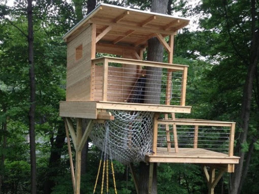การสร้างบ้านต้นไม้ควรใช้ไม้ชนิด