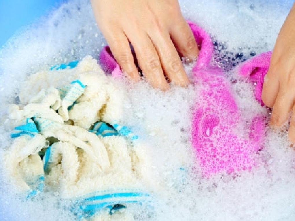 วิธีการซักผ้าด้วยมือ