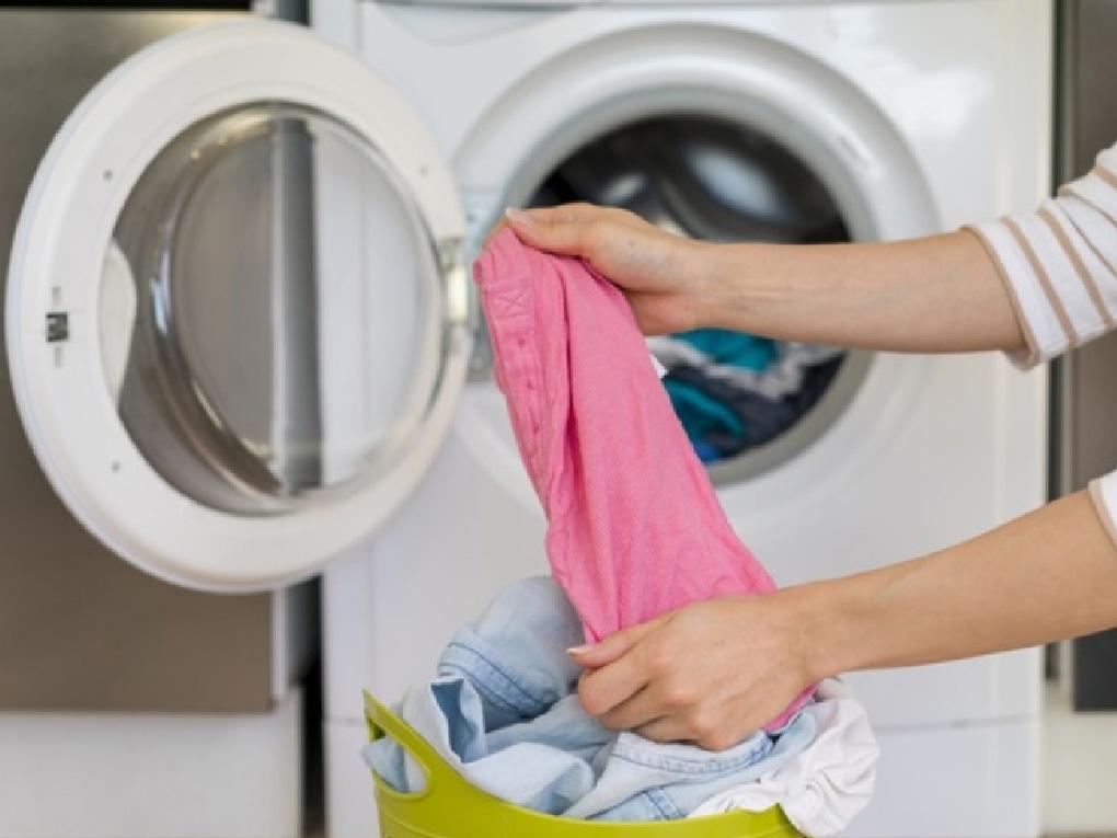ขั้นตอนการซักผ้าด้วยเครื่อง