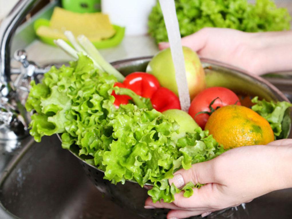 วิธีการล้างผัก