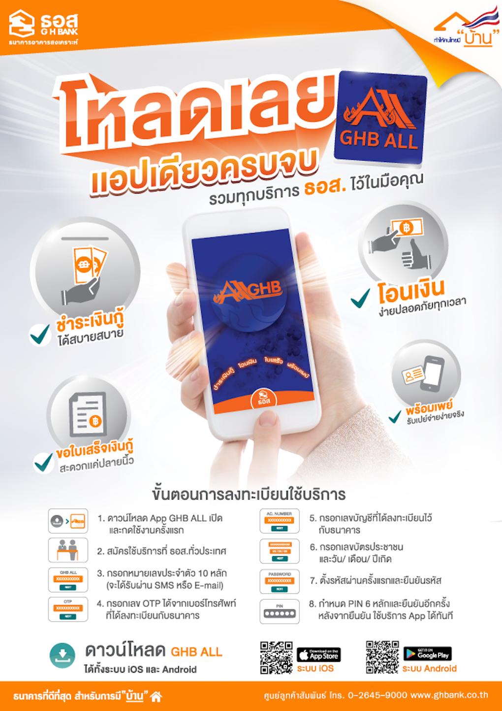 ธอส. - GHB ALL Mobile Application