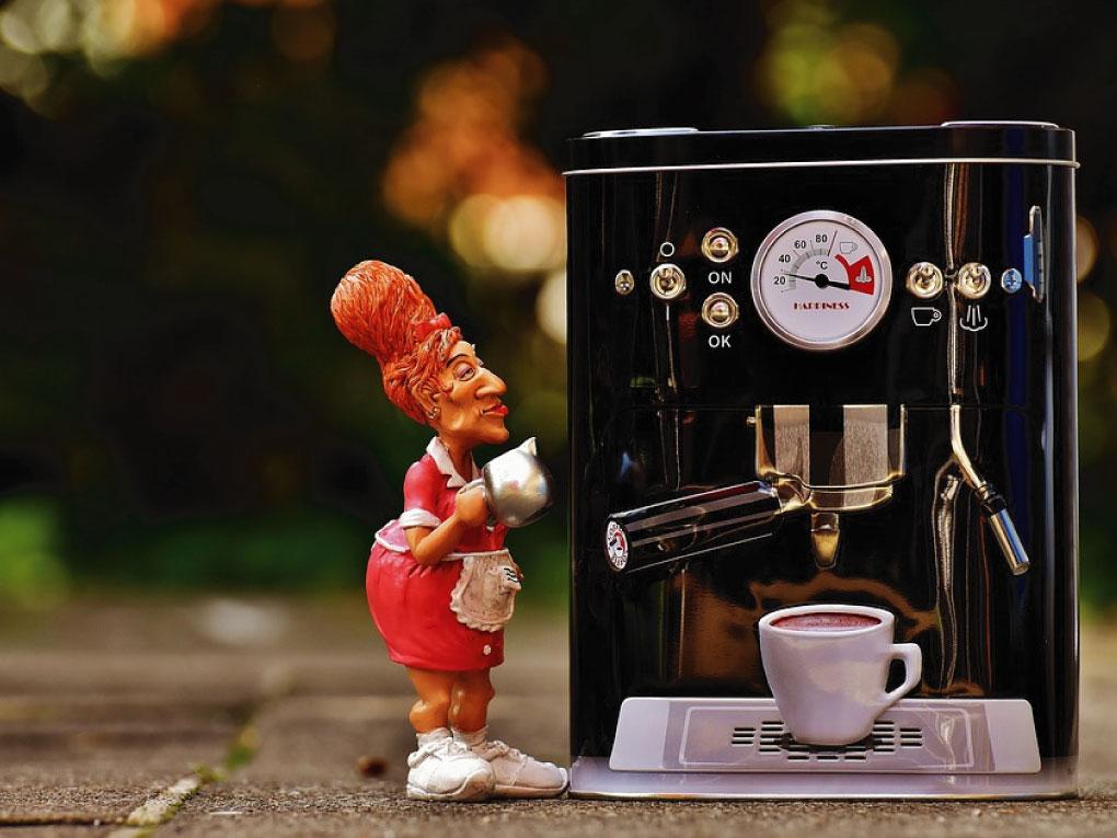 เลือกซื้อเครื่องชงกาแฟ