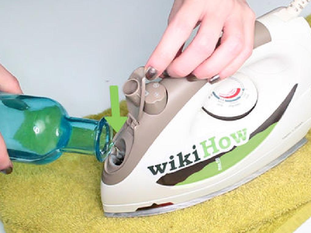 ล้างเตารีดไอน้ำจากภายใน