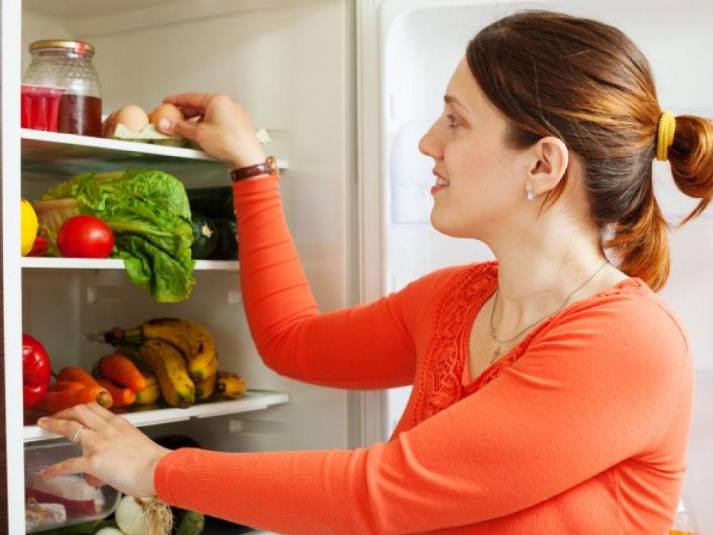 จัดระเบียบตู้เย็น