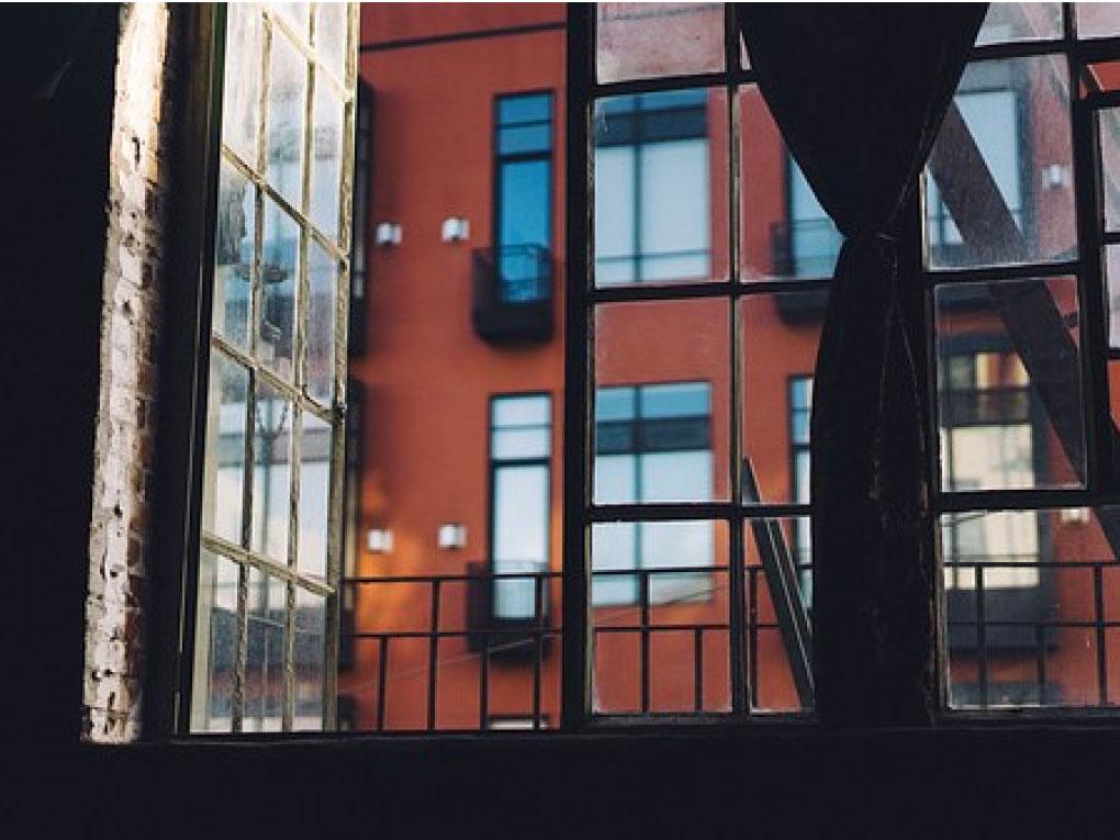 หน้าต่างบานแบบเปิด