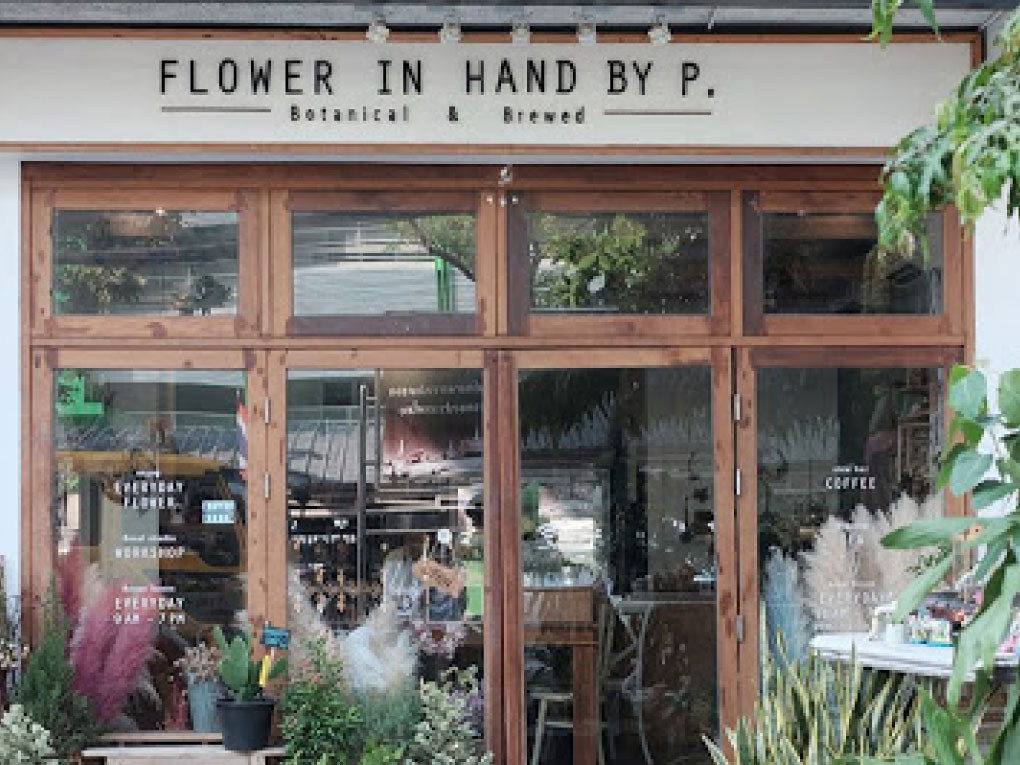Flower in Hand by P