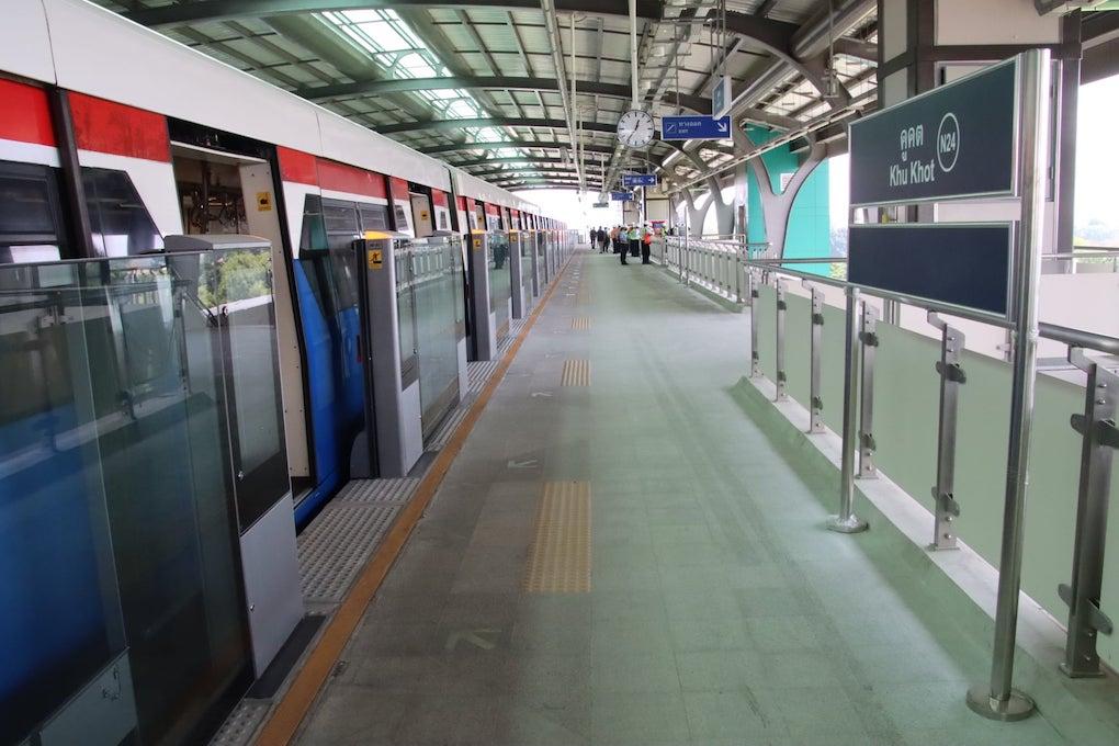 รถไฟฟ้าสายสีเขียวเหนือ