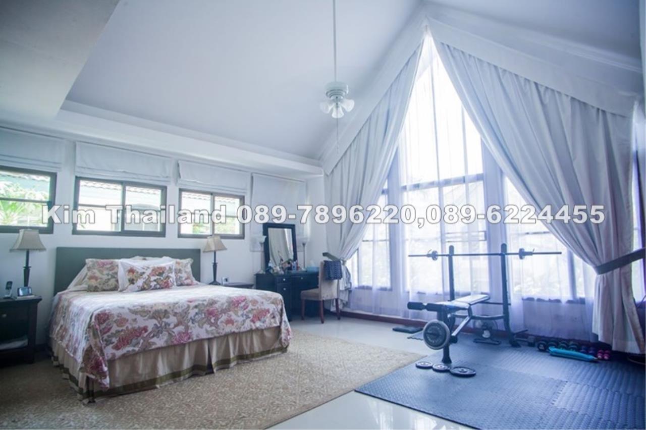 ให้เช่าบ้านเดียว 2 ชั้น ย่านปากเกร็ด พื้นที่ 119 ตรว. 4 ห้องนอน เช่า 50,000 บ/ด
