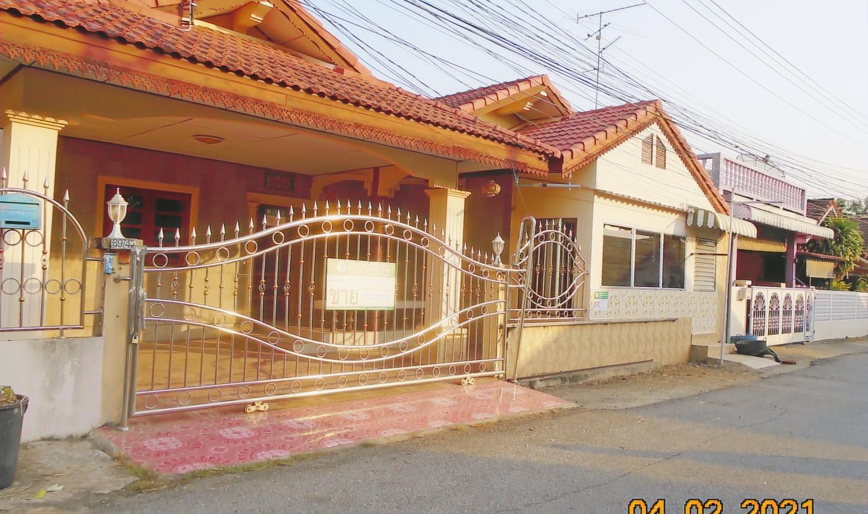 ขายถูก! บ้านเดี่ยว หมู่บ้านหทัยเพลส โครงการ 1 02-88-08202