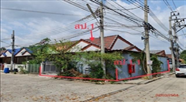 ขายถูก! ทาวน์เฮ้าส์ หมู่บ้านทิวตะวัน จังหวัดนนทบุรี 03-88-05023