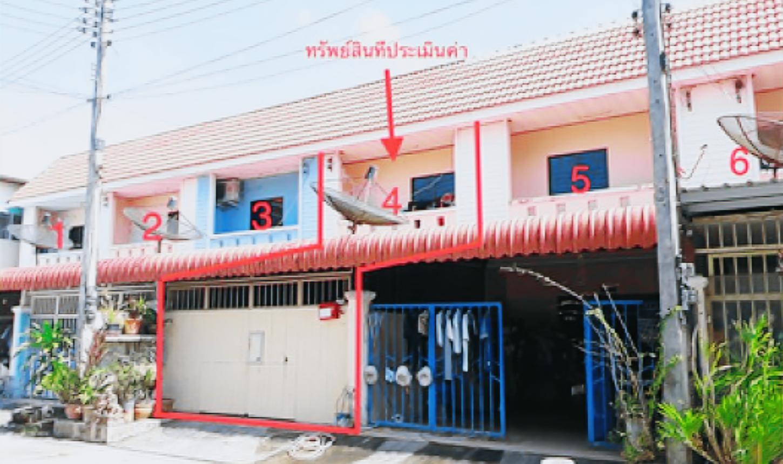 ขายถูก! ทาวน์เฮ้าส์ หมู่บ้านประกายทอง จังหวัดสงขลา 03-88-05006