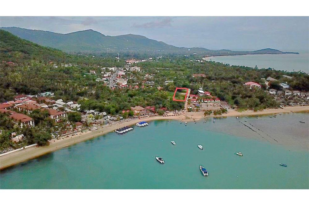 Beautiful Seaside Land in Maenam Beach, Koh Samui for SALE
