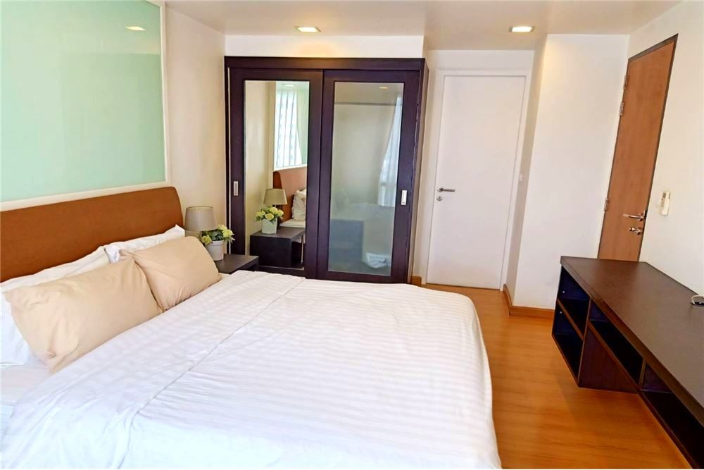 Quiet, peaceful and clean condo building with 8 floors in an excellent location  <BR>Near Thonglor BTS station <BR>300m from the main road <BR>Gym, swimming pool and sauna on the roof <BR>24 hour security <BR>