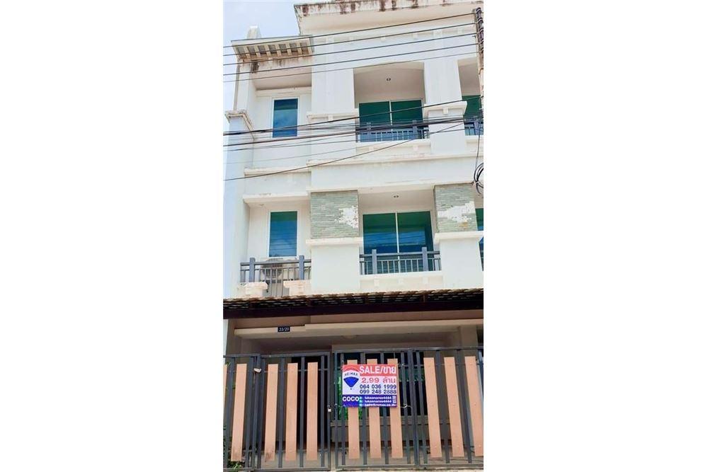 ขายทาวน์เฮ้าส์ 3 ห้องนอน ในตัวเมืองนครศรีฯ