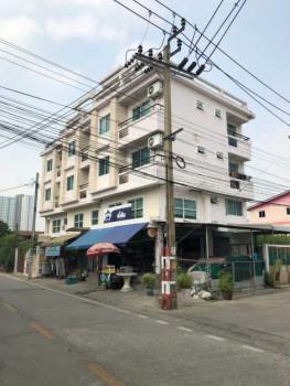 A-0023   ขายด่วน อพาร์ทเม้นท์ พร้อมตึกแถว รวม 3 หลัง ทำเลดี ใน ต.บางกระสอ อ.เมืองนนทบุรี ใกล้ รถไฟฟ้าสายสีม่วง MRT บางกระสอ เพียง 300 เมตร