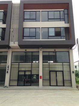 ให้เช่า-ขาย อาคารพาณิชย์  4 ชั้น 2คูหา โครงการเดอะ ไอยรา แกรนด์เด 430 ตรม.  ทำเล ติดตลาดไท ใกล้โรงแรม iResidence Hotel Pathumthani