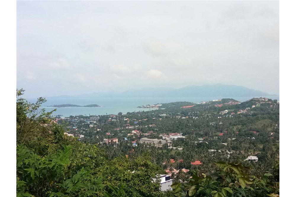 Beautiful sea view land in Chaweng Noi